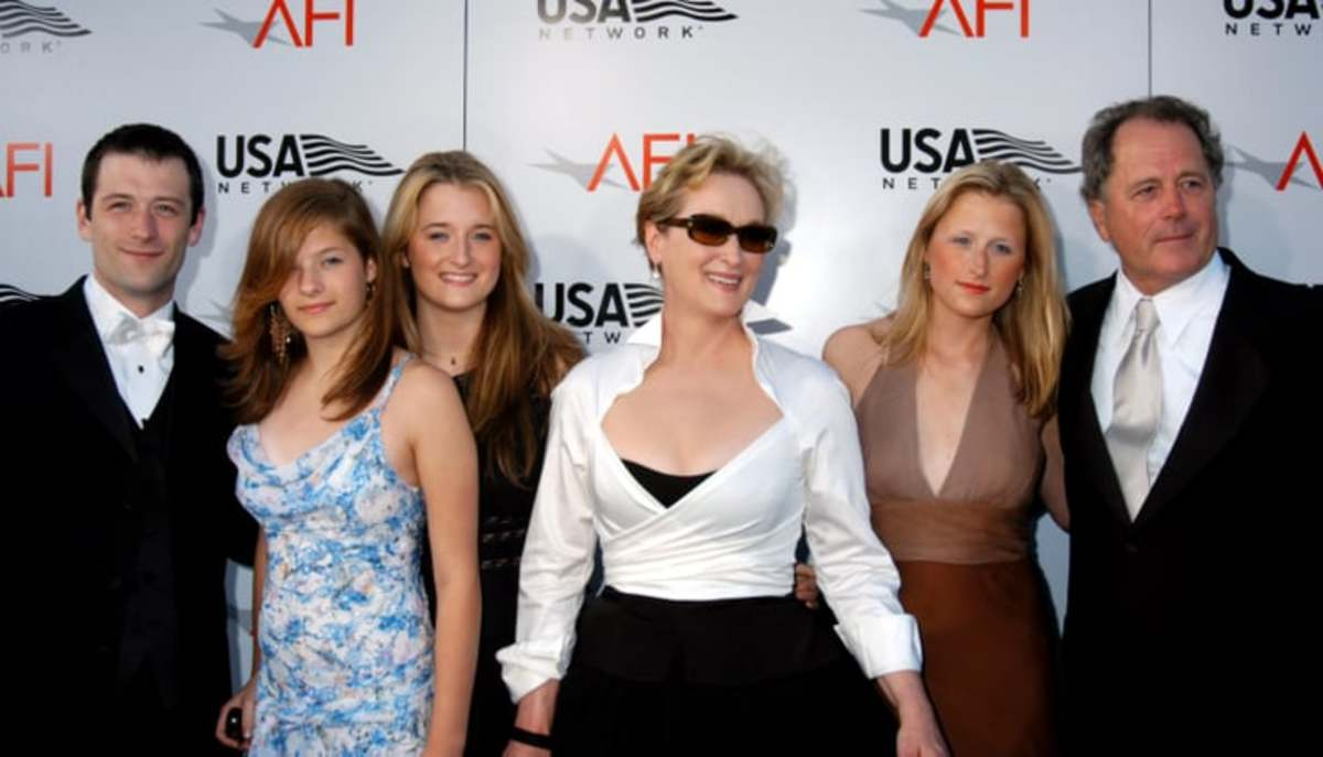 Meryl Streep and her family...