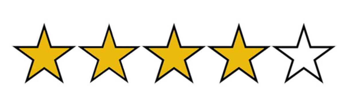 4 stars out of 5