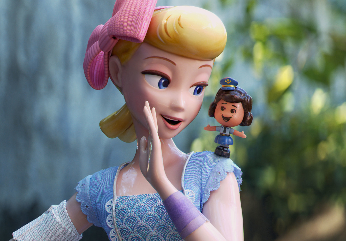 Bo Peep and another awesome female character, Giggles McDimples.
