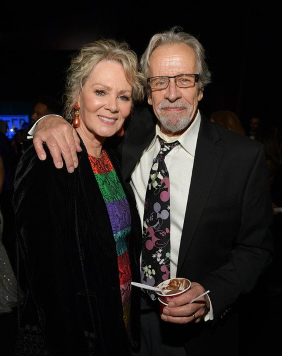 "Jean Smart and her husband, Richard Gilliland (remember him from ""Designing Women?"")"