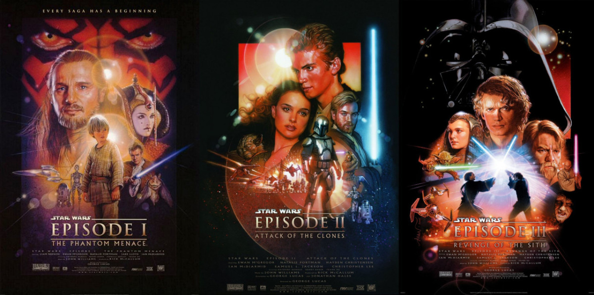 One of the worst trilogies of all time.