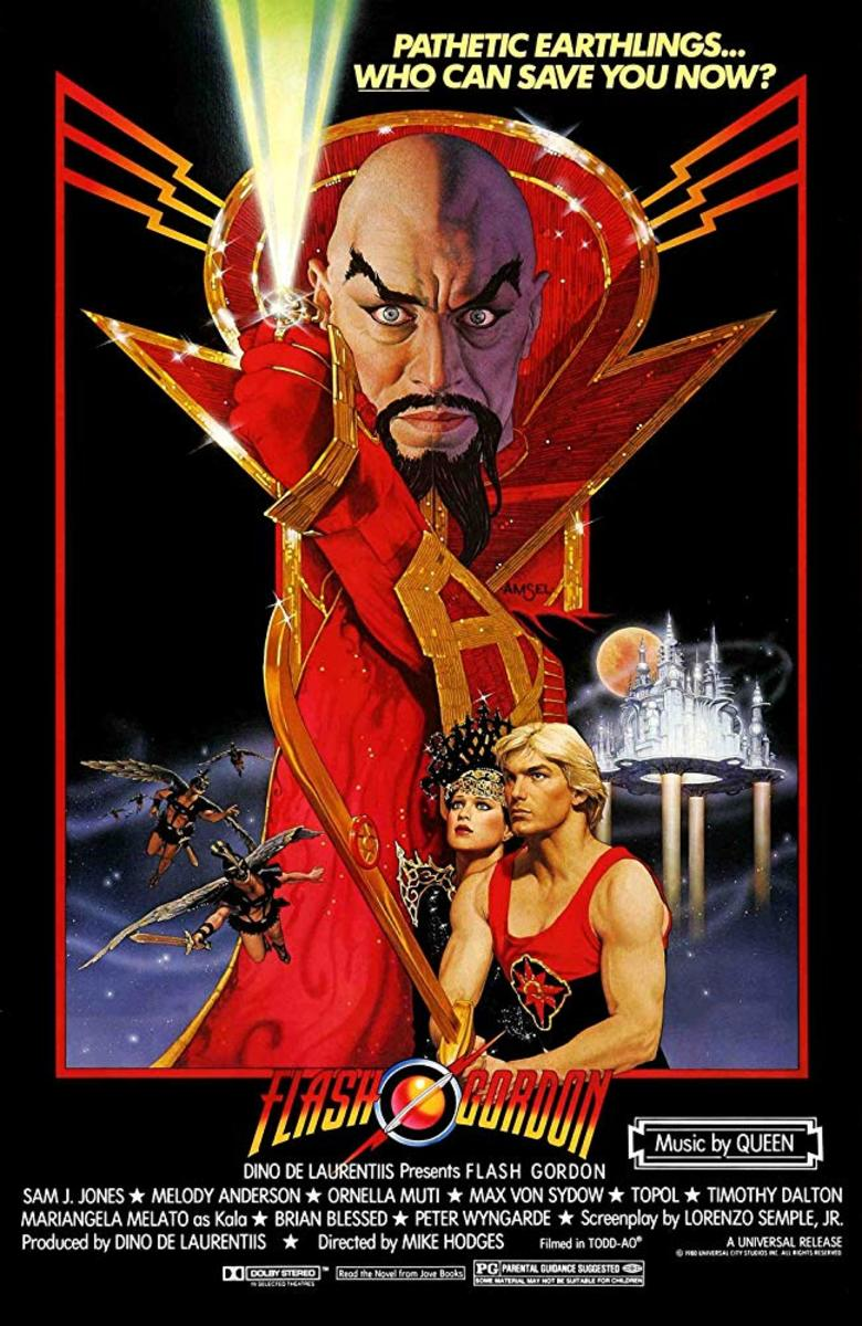 Thankfully though we were still graced with a 'Flash Gordon' movie a few years later.