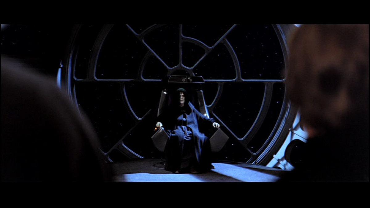 Original throne room scene.