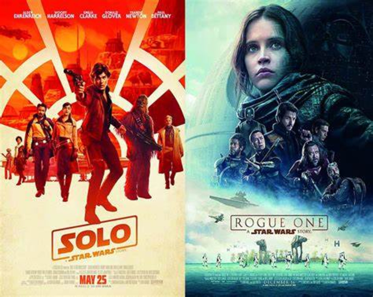 I love 'Solo' and I think 'Rogue One' is okay. Who did I just piss off?