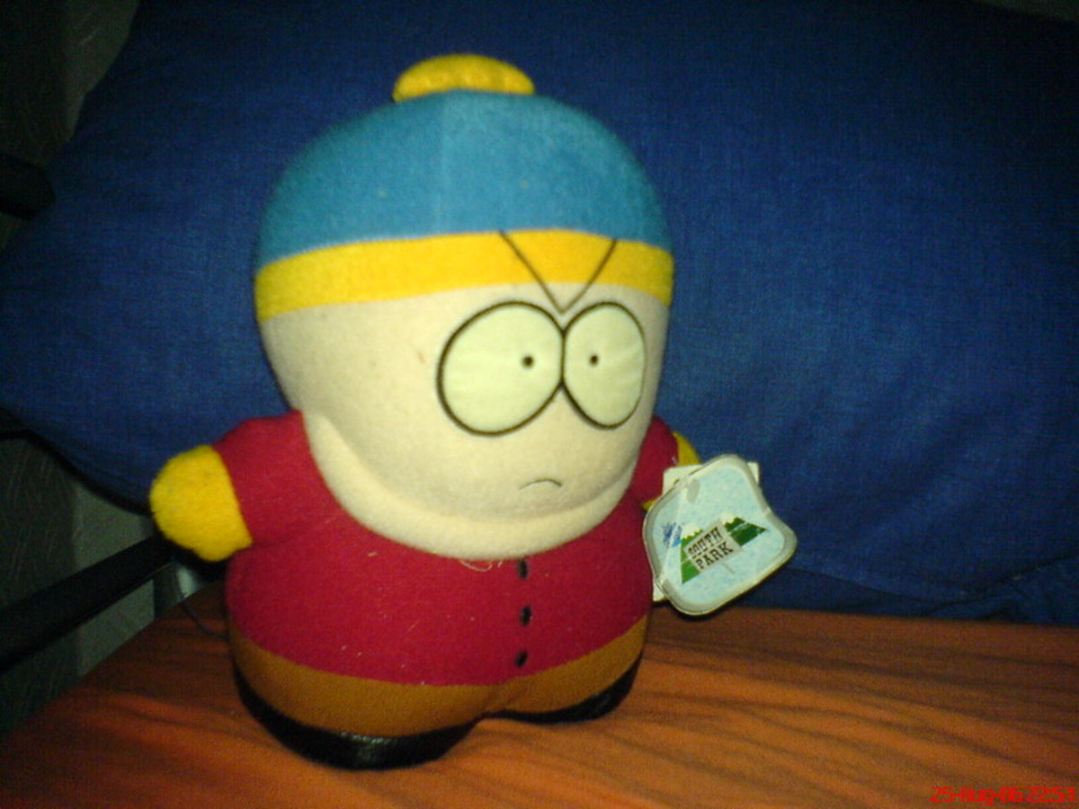 Eric Cartman is the worst of America with no redeeming qualities.
