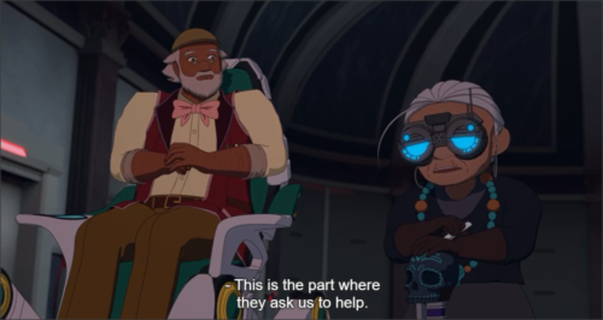 """Pietro (Left) and Maria (Right) from """"RWBY"""""""