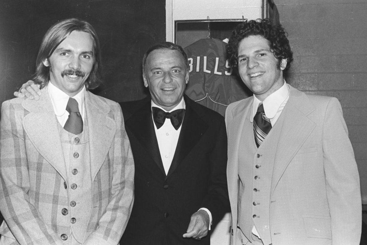 Corky Burger, Frank Sinatra, Harvey Weinstein