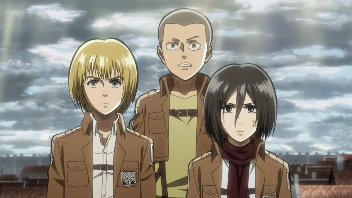 As Eren and company tries to learn more about the titans, they begin to suspect that the basement of Eren's house in the ruined Shinganshina District of Wall Maria holds the answers to the dreadful mysteries of the world.