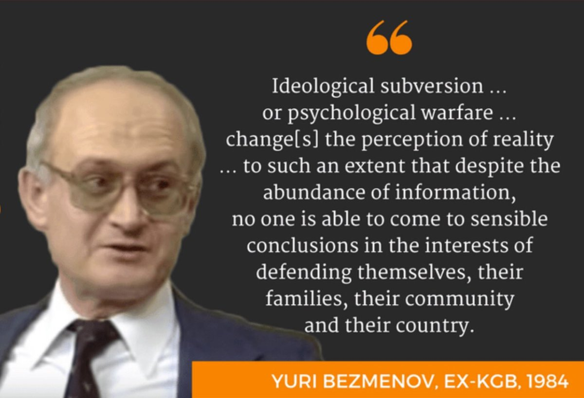 Both the Americans and Soviets have been accused of subversion: the principal difference I think is that the Americans were ultimately much better at it...