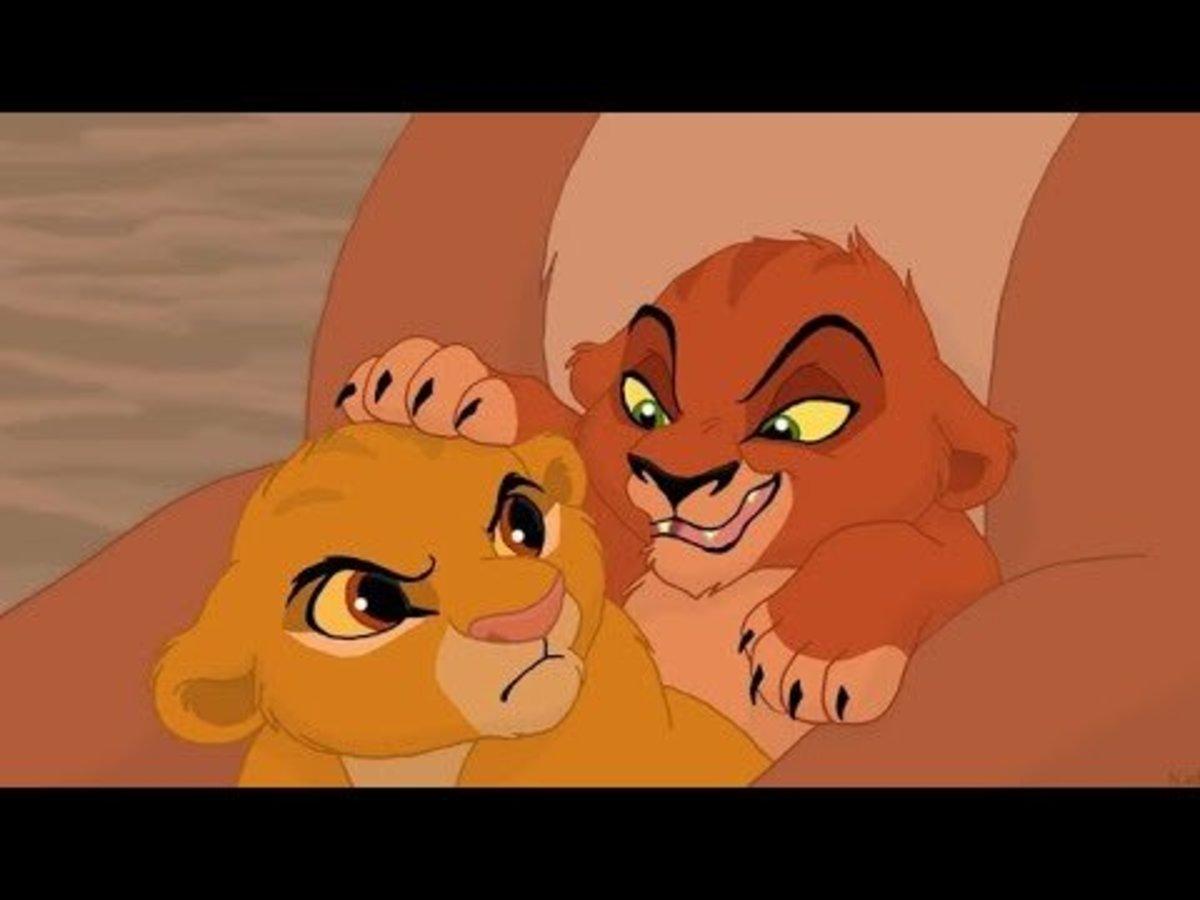 Mufasa and Taka