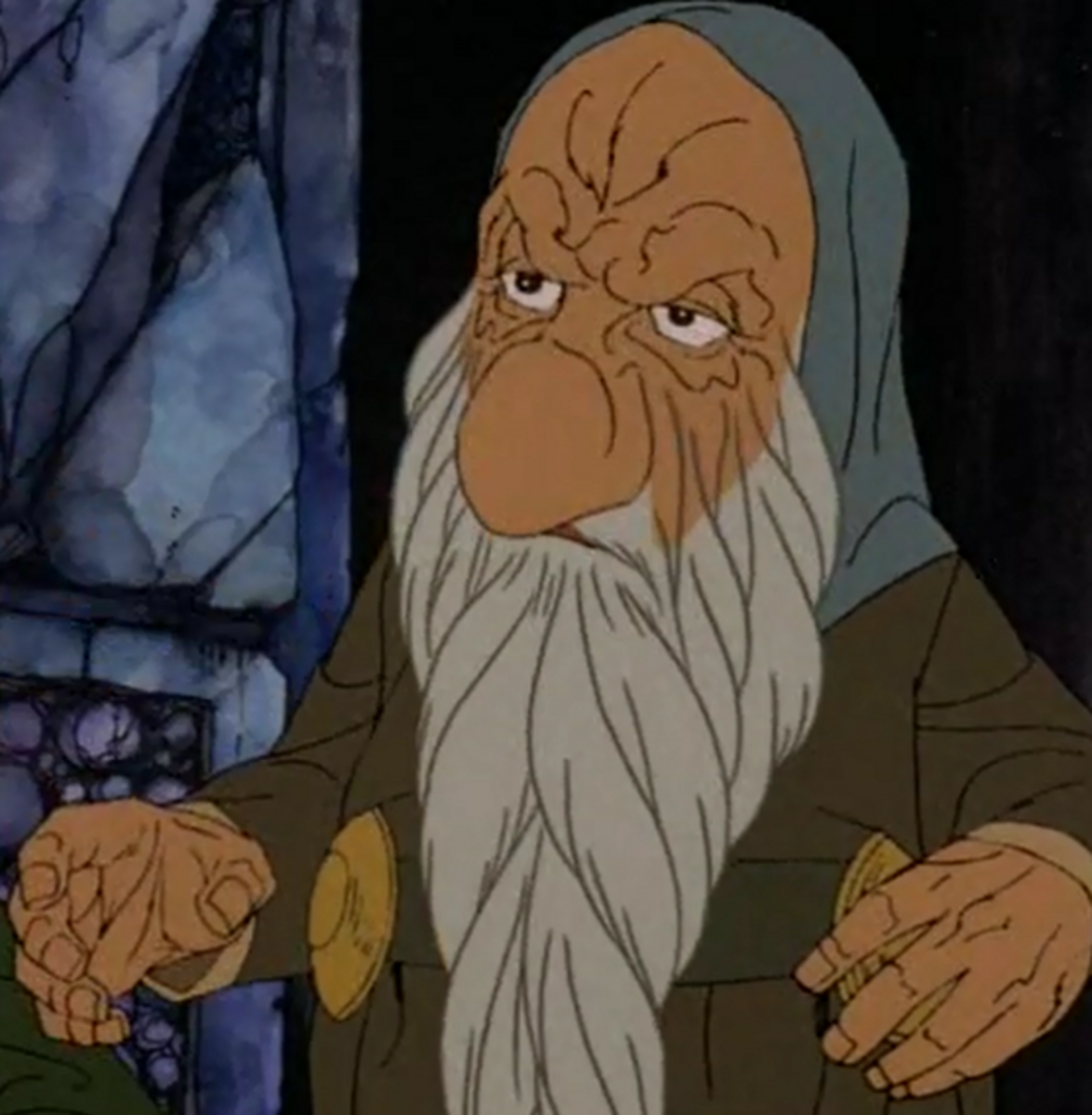 The real Thorin is an ugly old man!