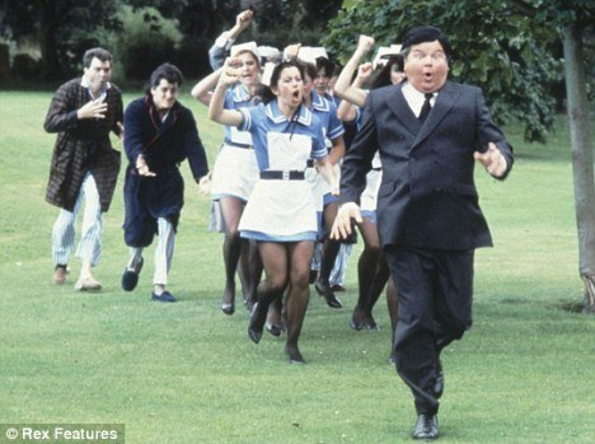 Benny Hill chase scene
