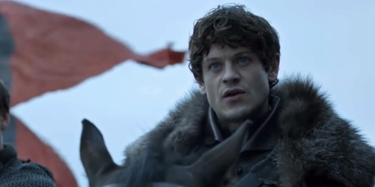 "Ramsay Bolton from HBO's ""Game of Thrones"""