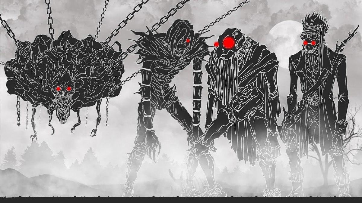 Shinigami in Death Note