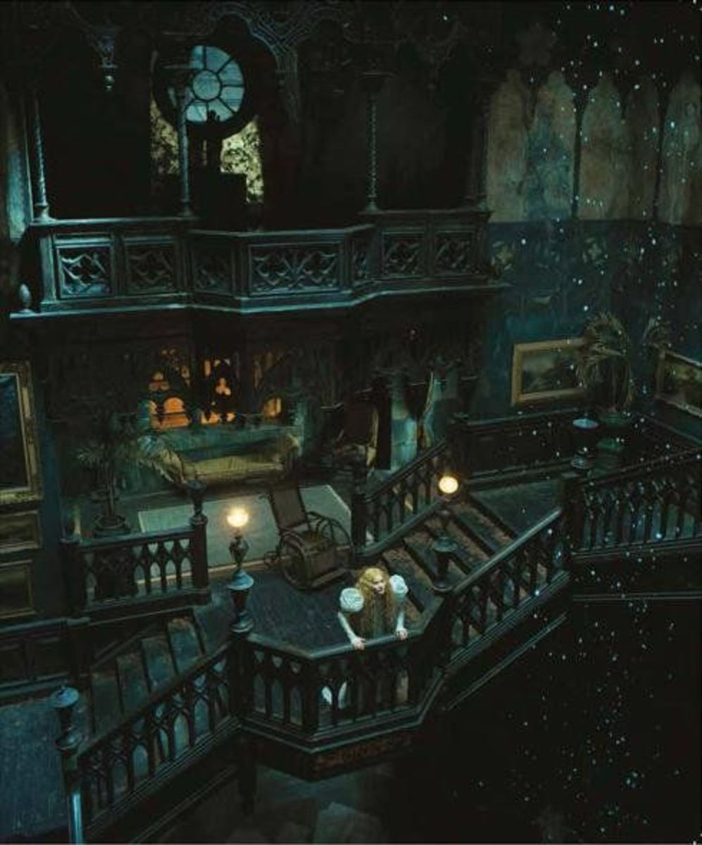 Crimson Peak's haunting production design