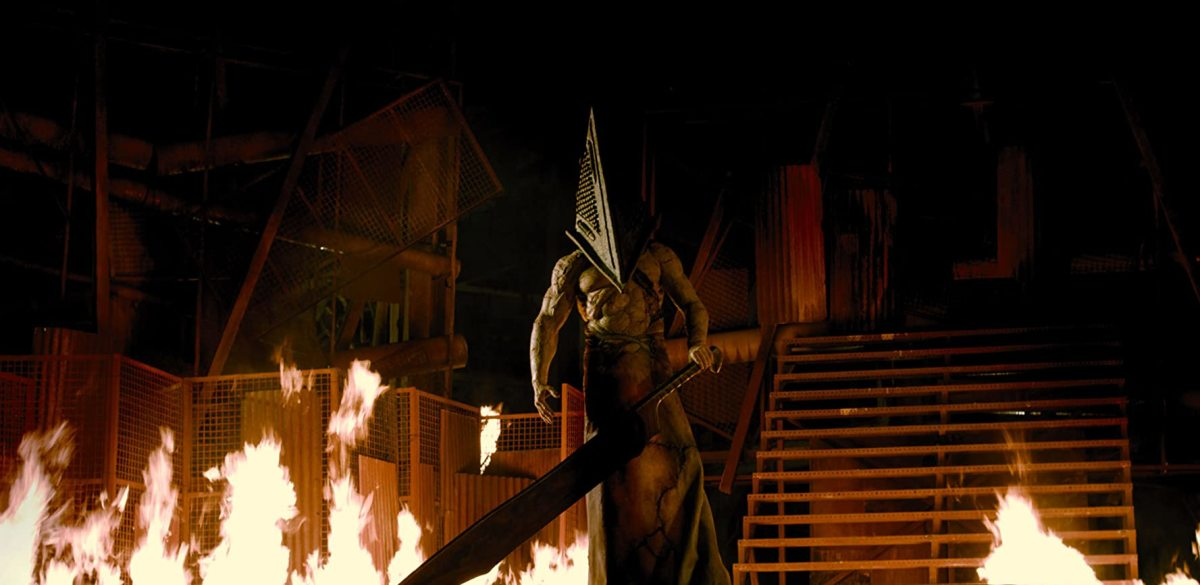 Pyramid Head will randomly come to save us all... I guess?