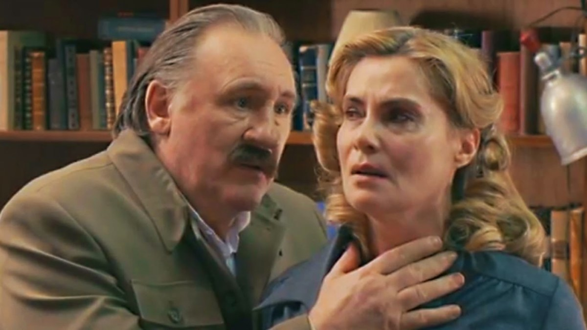 Lidia comes out somewhat better in some respects in the movie than in the book, but  Stalin comes out even worse and with less of an attraction or repulsion.