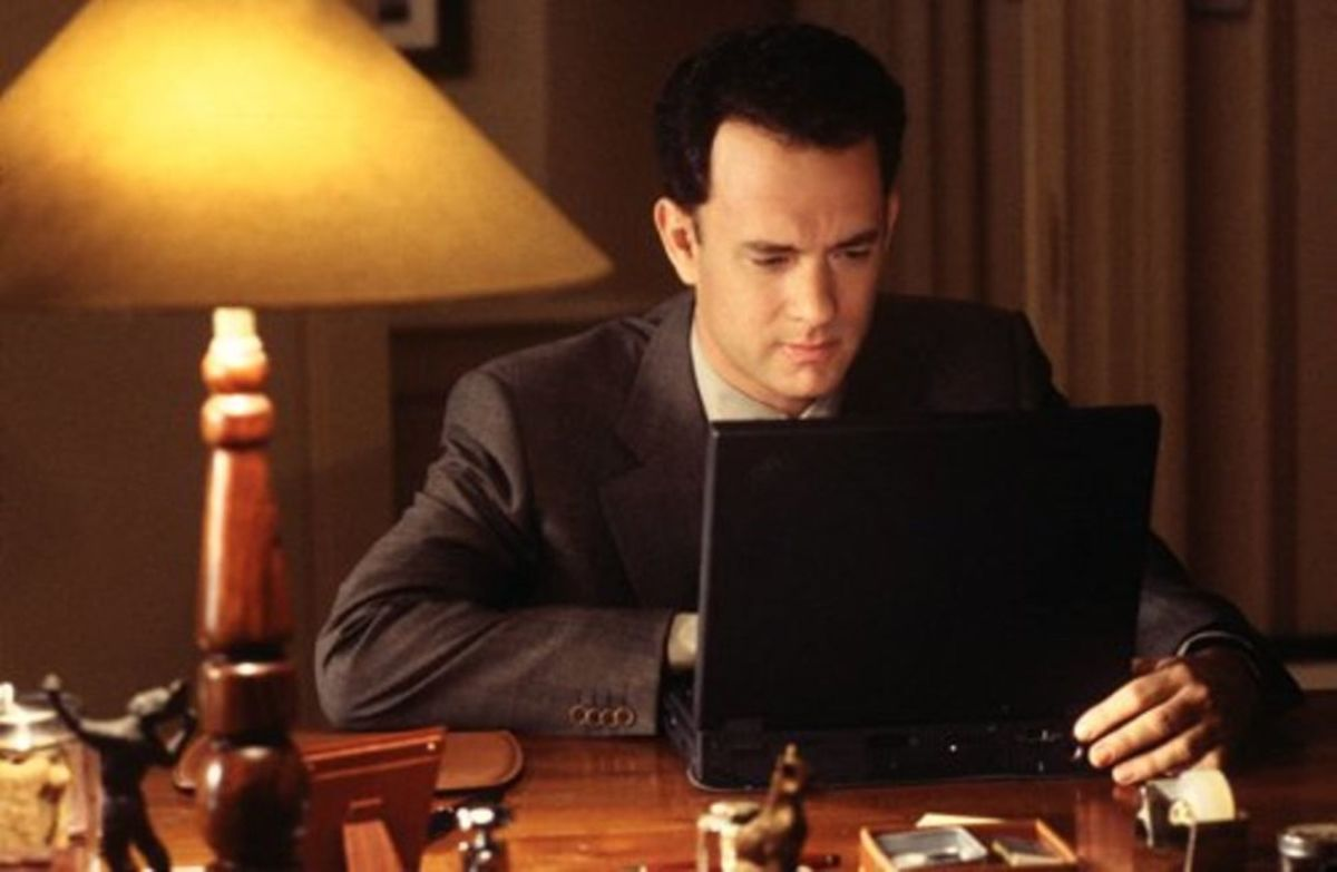 Tom Hanks as Joe in You've Got Mail