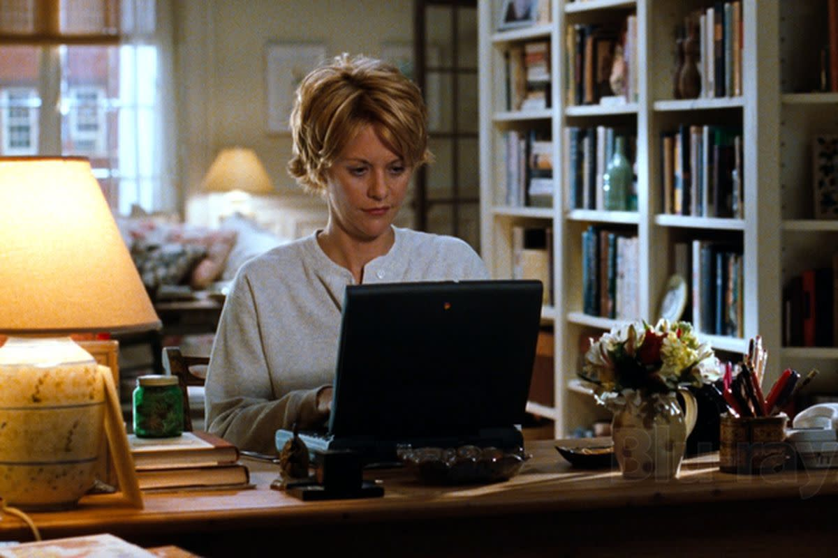 Meg Ryan as Kathleen in You've Got Mail