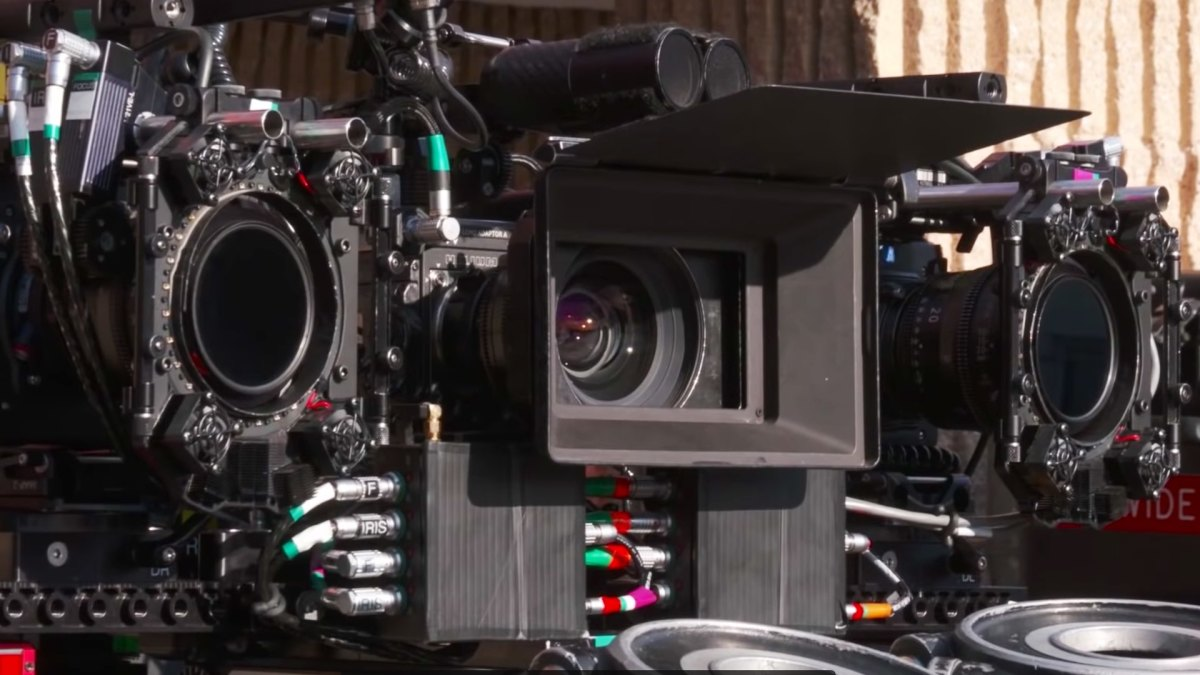 Scorsese called this setup 'the three-headed monster'