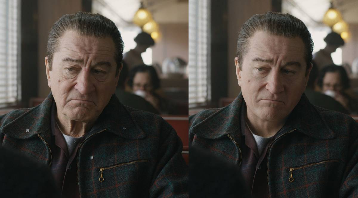 Even young De Niro had that iconic frown on his face.