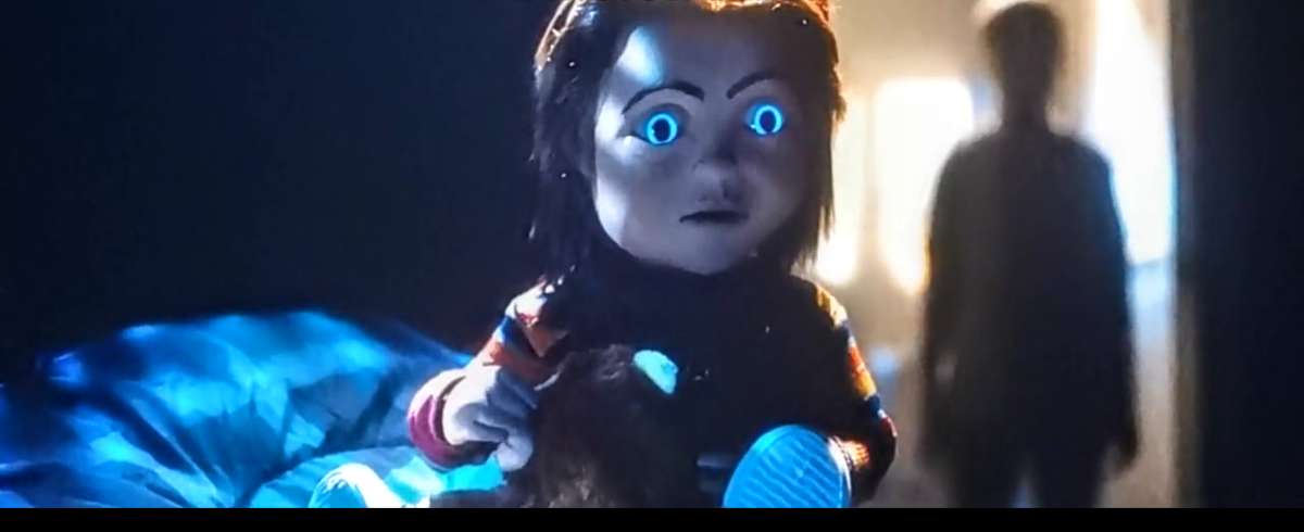 Chucky is sad after being punished by Andy.