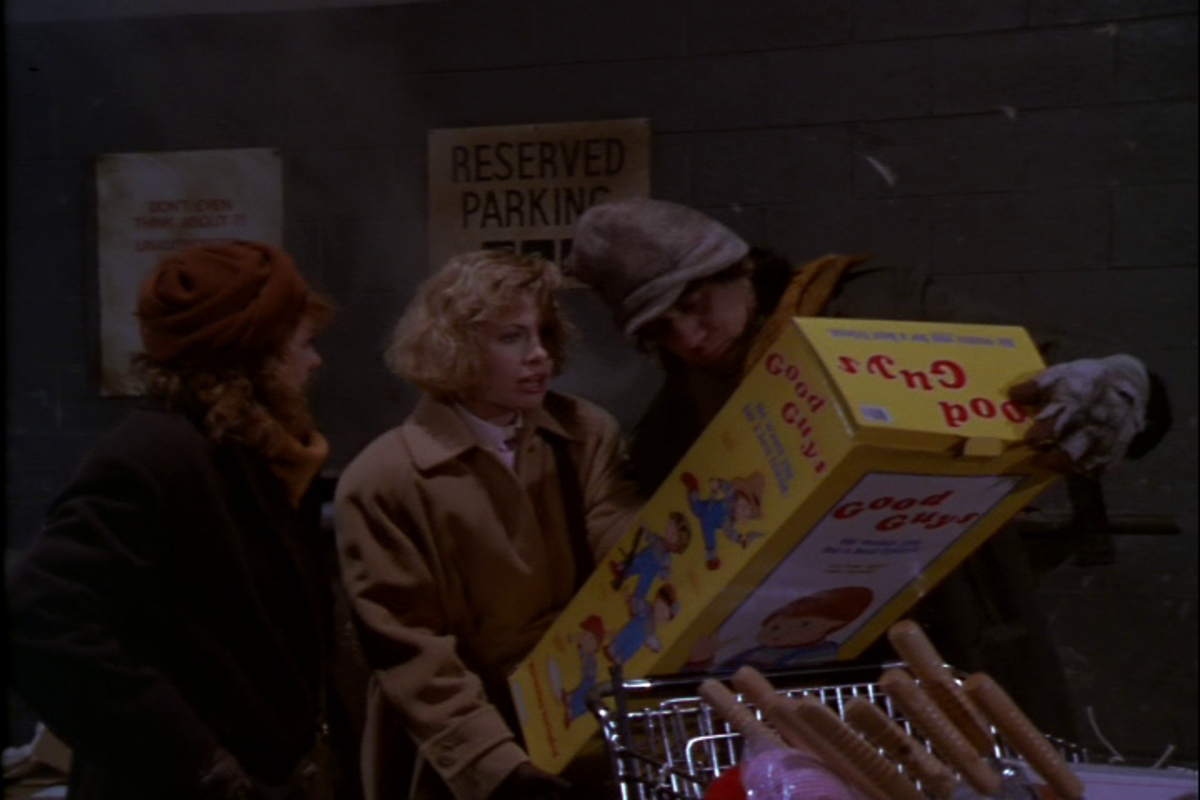 "The homeless guy from the original ""Child's Play."""