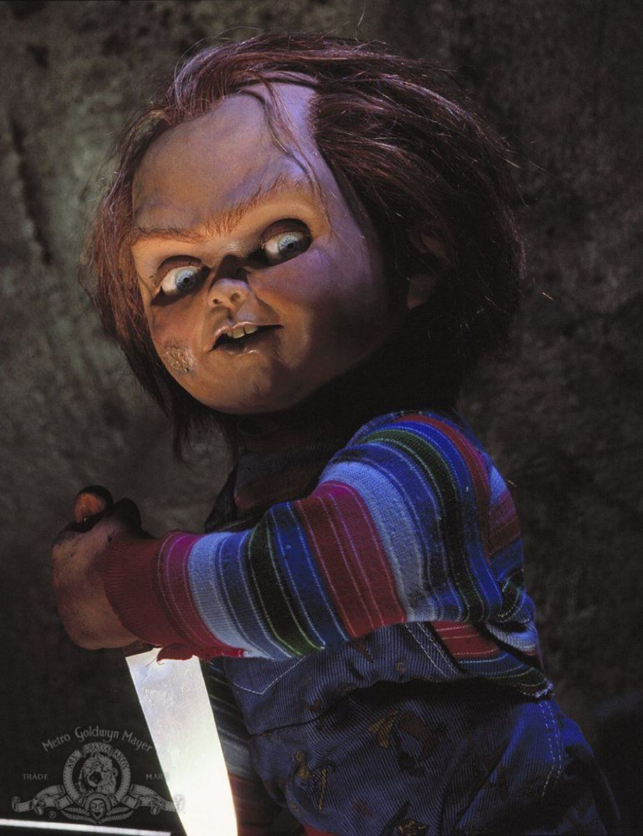 Chucky was seriously creepy.
