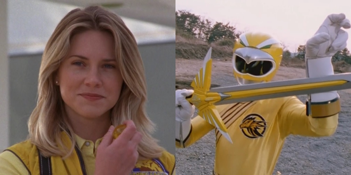 Yellow Ranger Taylor