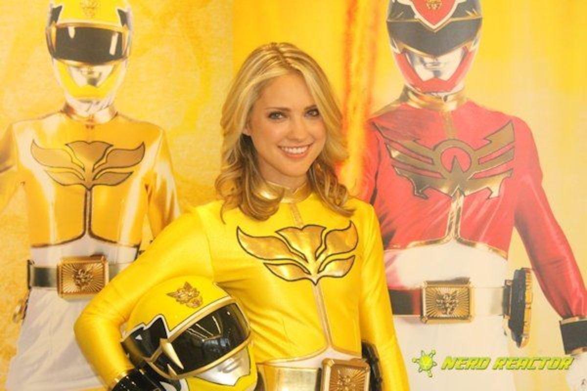 Yellow Ranger Gia
