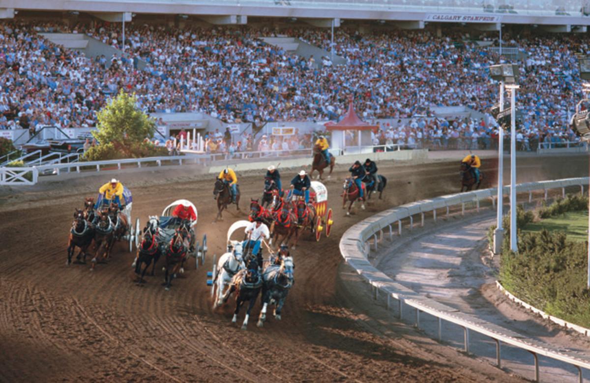 Calgary Stampede - Chuckwagon Race