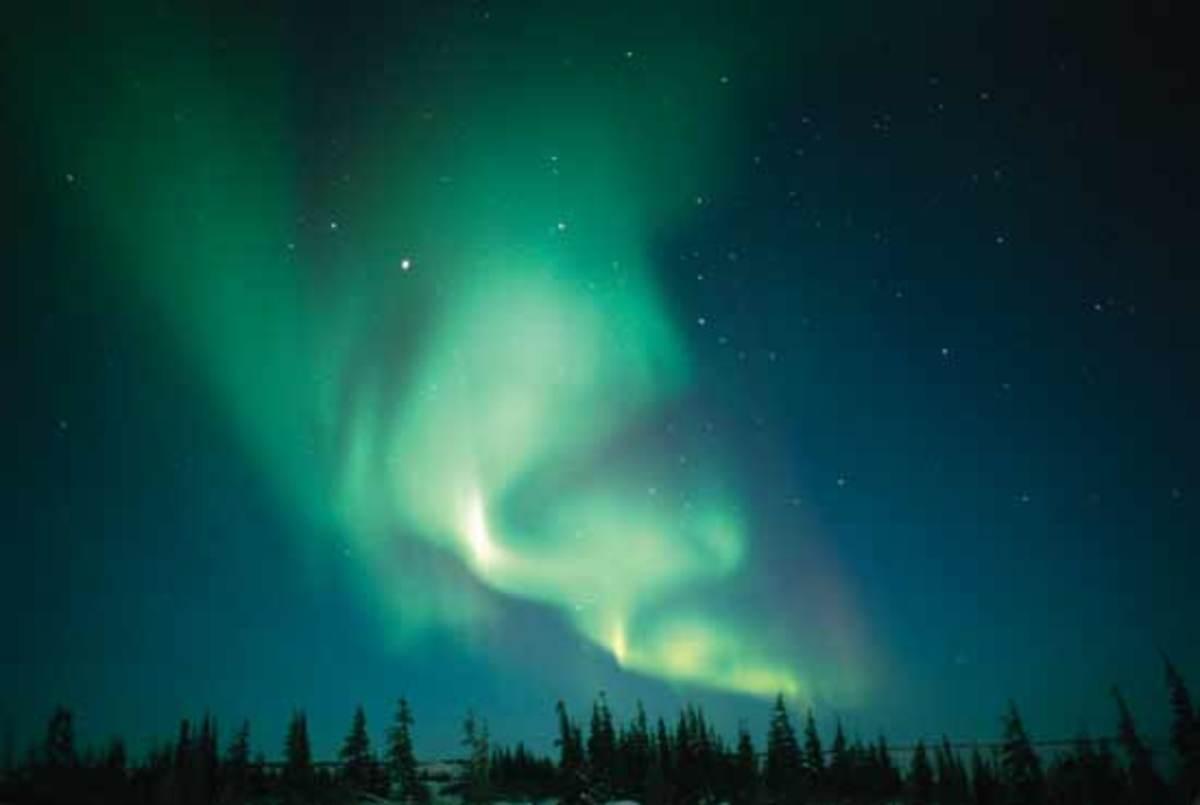 Aurora Borealis, Churchill, Manitoba