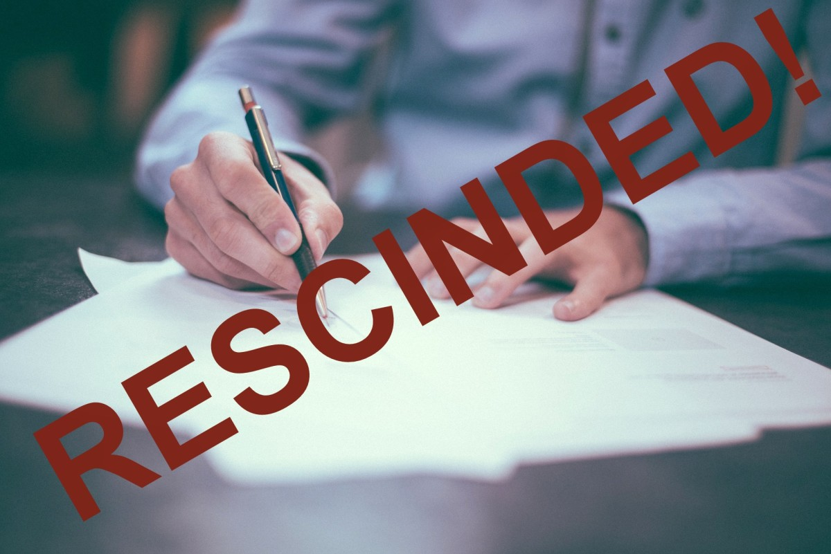 Rescind the Timeshare Purchase