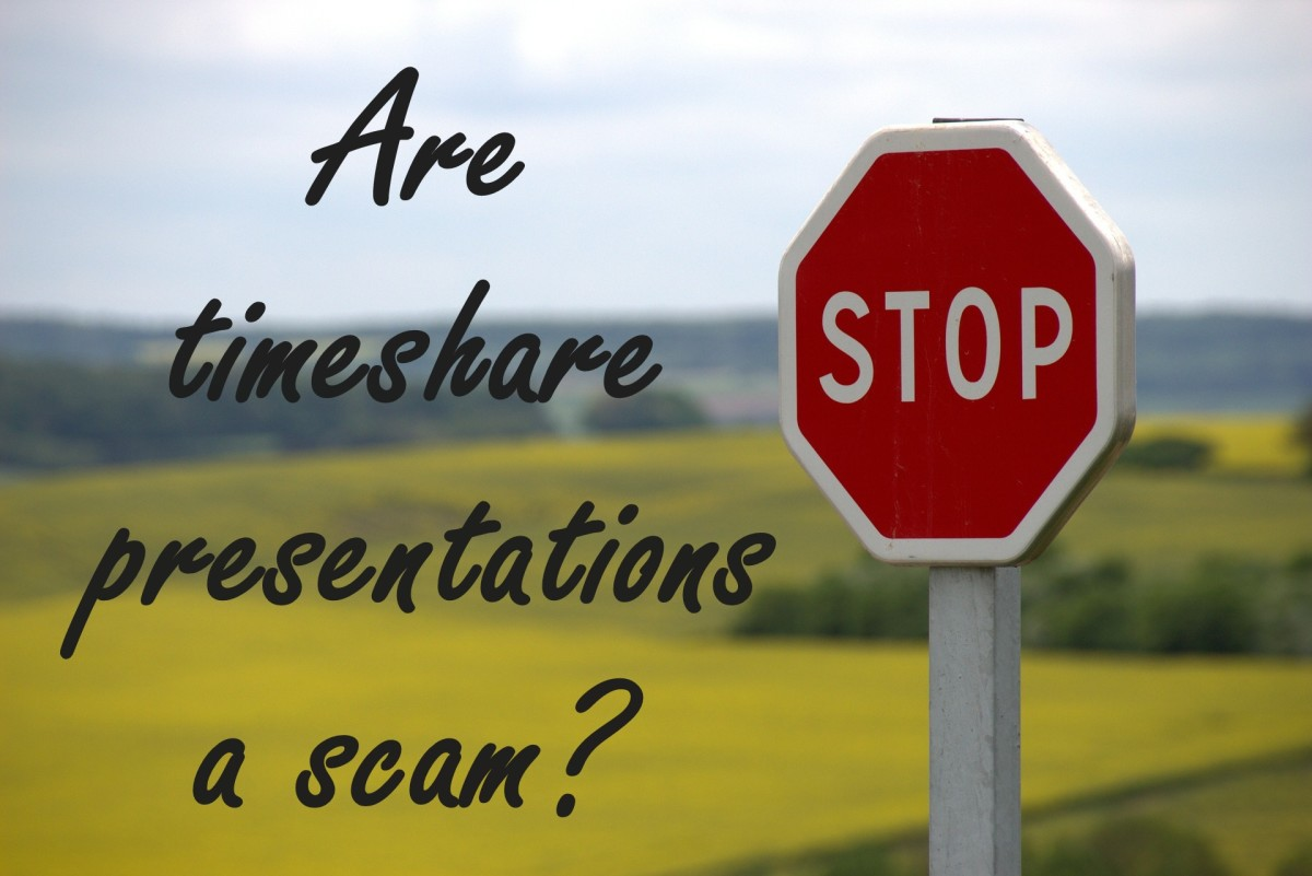 Are timeshare presentations a scam?