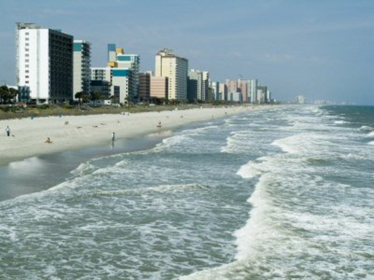 How Far Is Myrtle Beach From Pensacola Beach