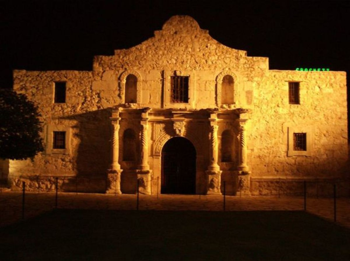 The Alamo in historic San Antonio.