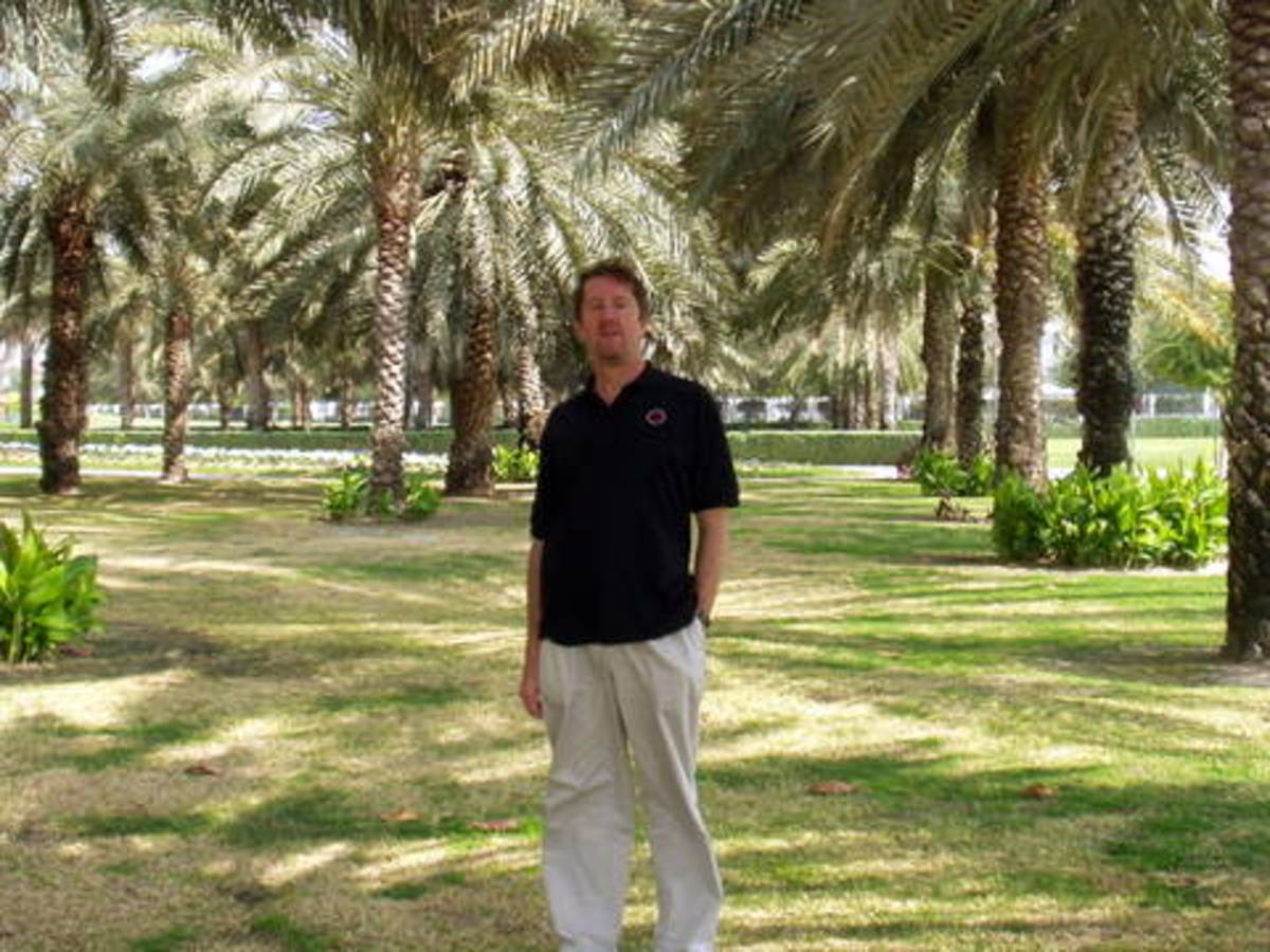 'working' in dubai's safa park