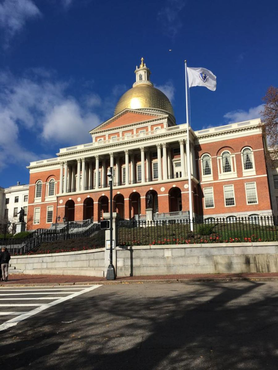 Massachusetts State House on Beacon Hill offers popular free tours each weekday.