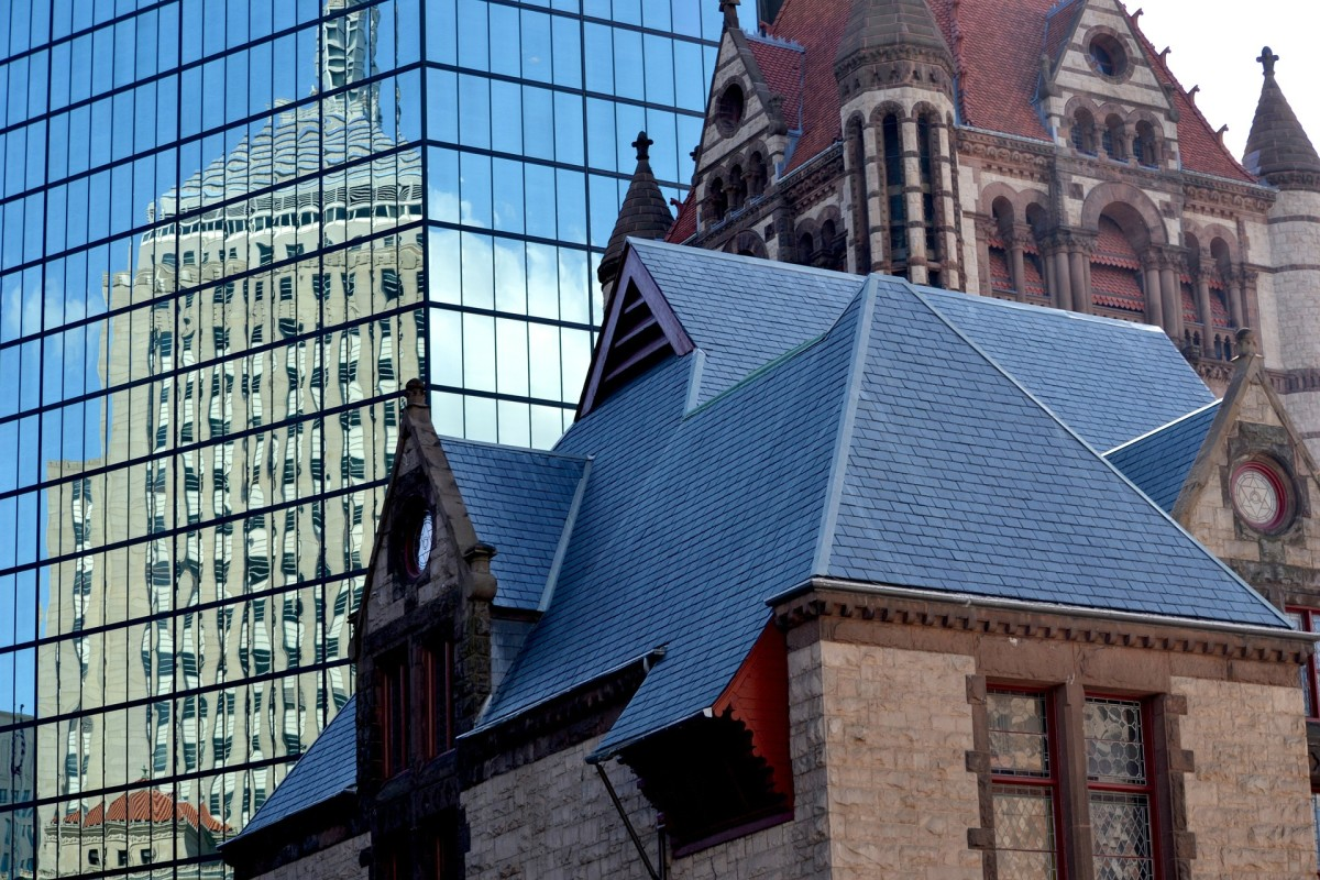 Old and new go hand in hand in Boston.