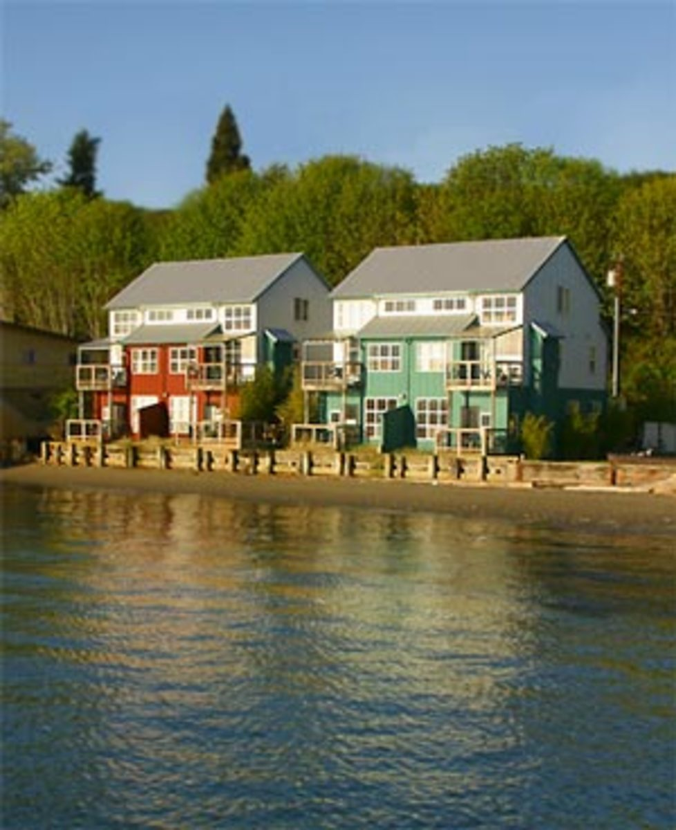 The Boatyard Inn in Langley on Whidbey Island