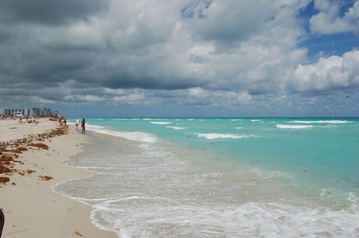 South Beach aka Miami beach, florida