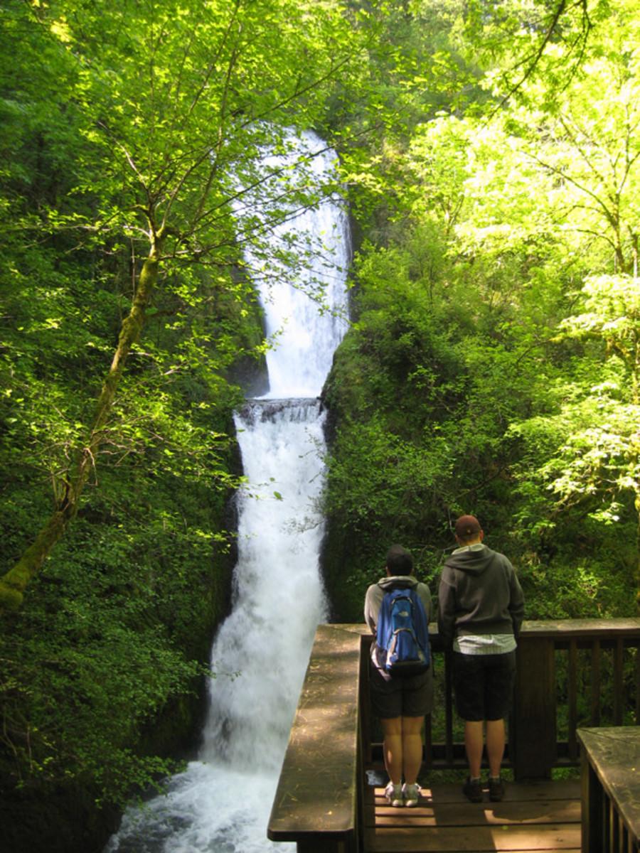 Bridal Veil Falls - Columbia River Gorge Oregon