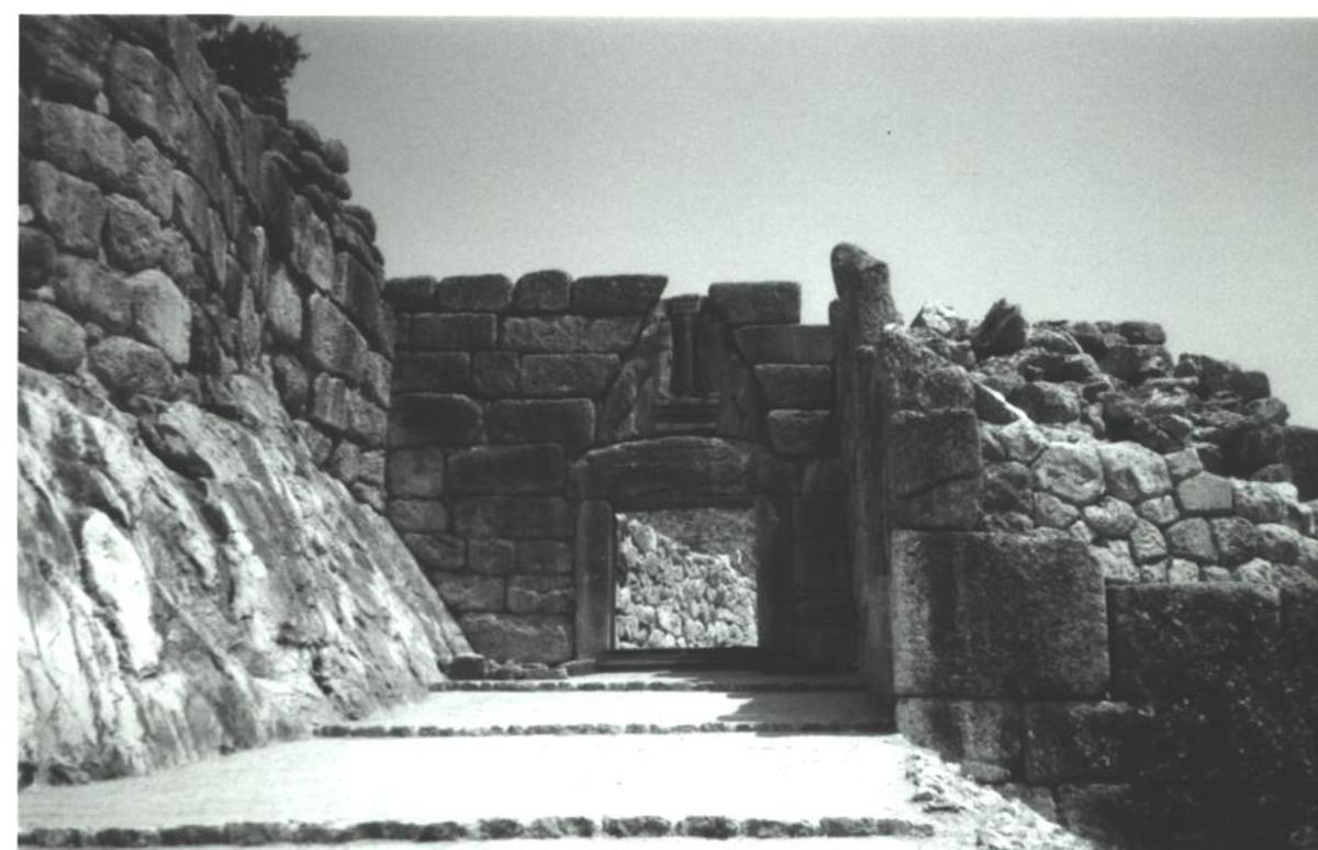 Mycenae's formidable Lion Gate