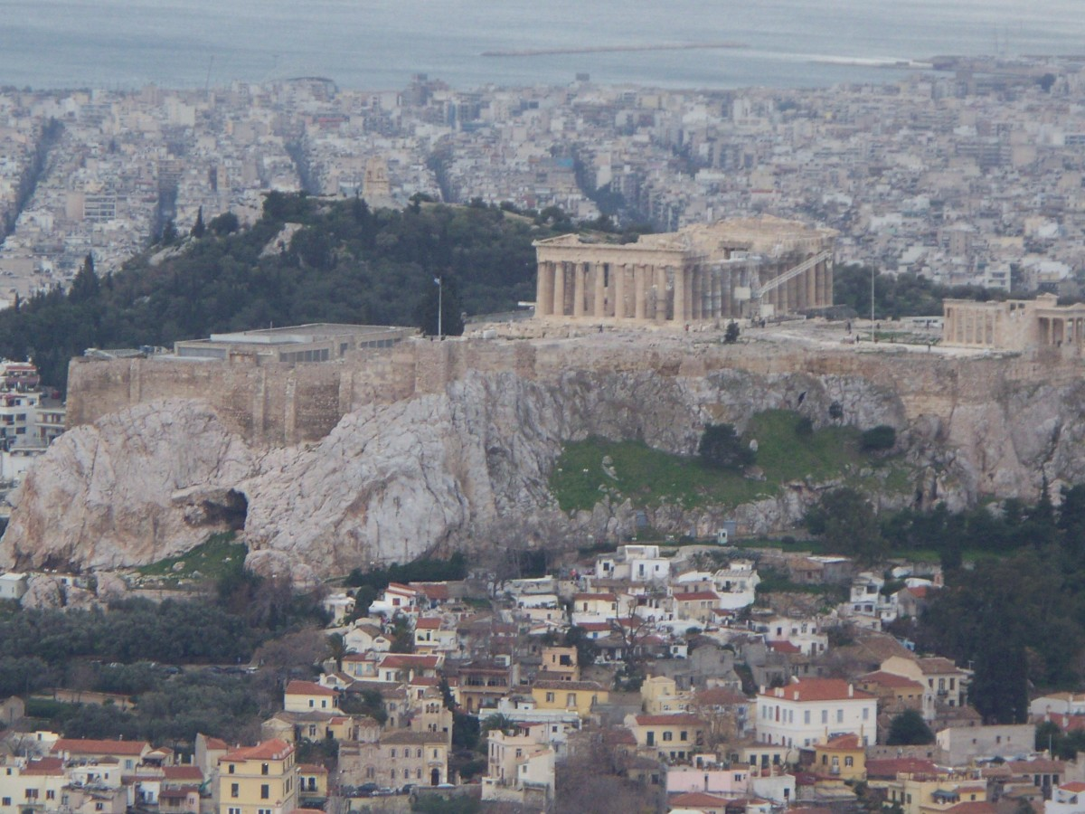 """Athens, the eye of Greece, mother of arts...and eloquence."""