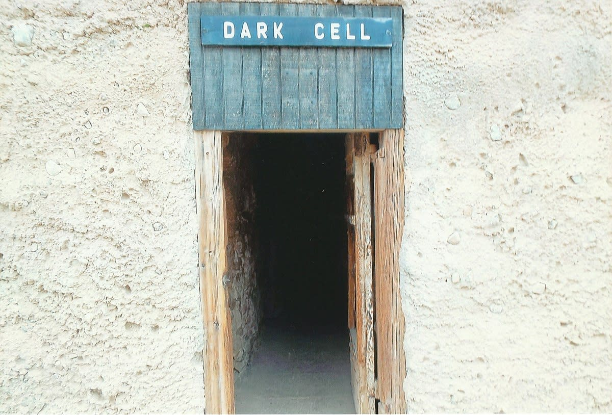 The Dark Room in the Yuma Territorial Prison.