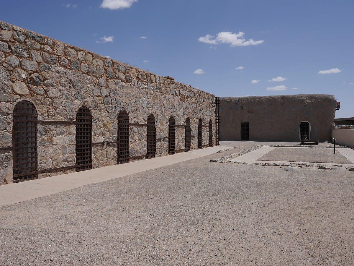 Yuma Territorial Prison State Historic Park, Yuma, Arizona.