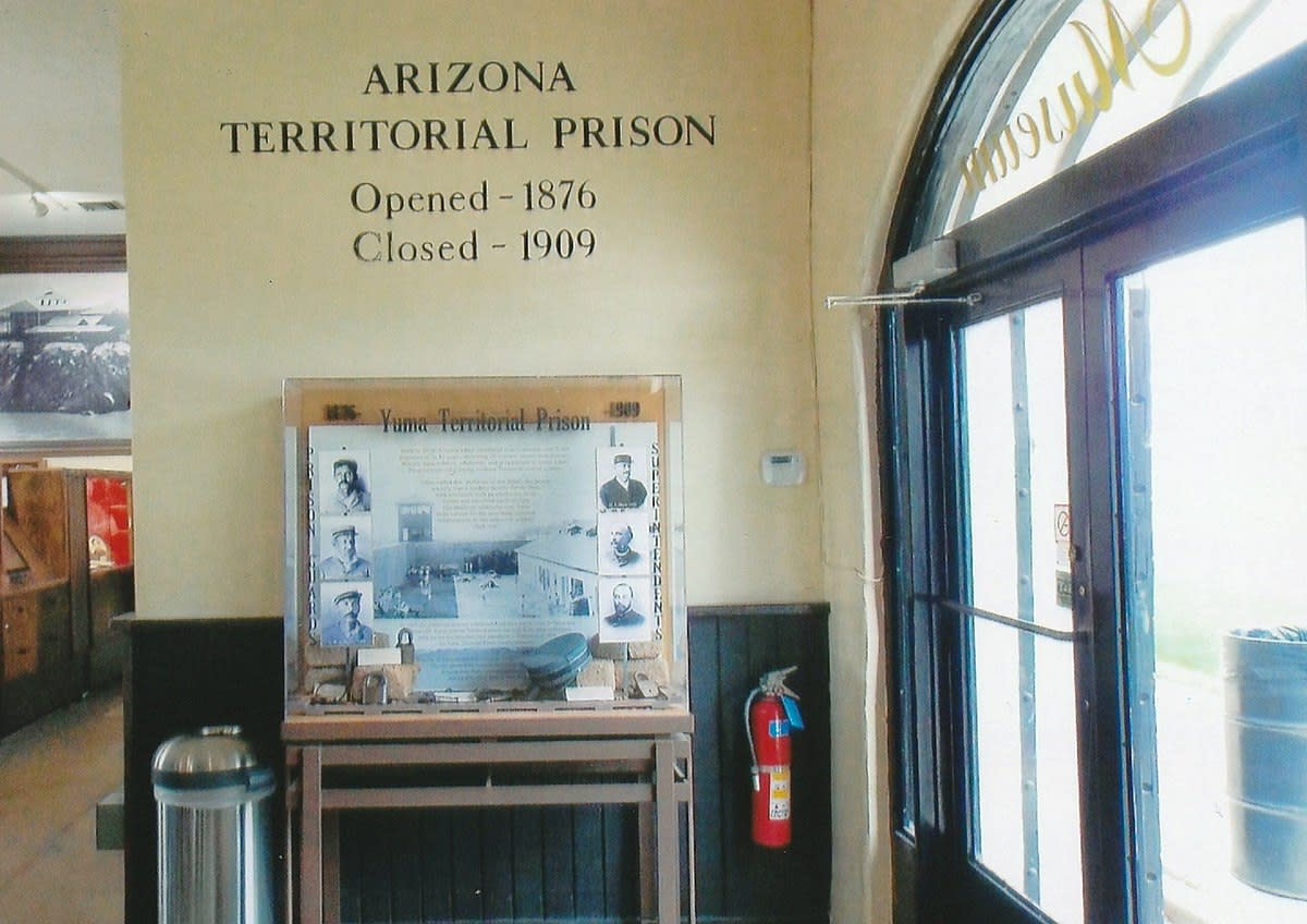 Display in the Yuma Territorial Prison museum.