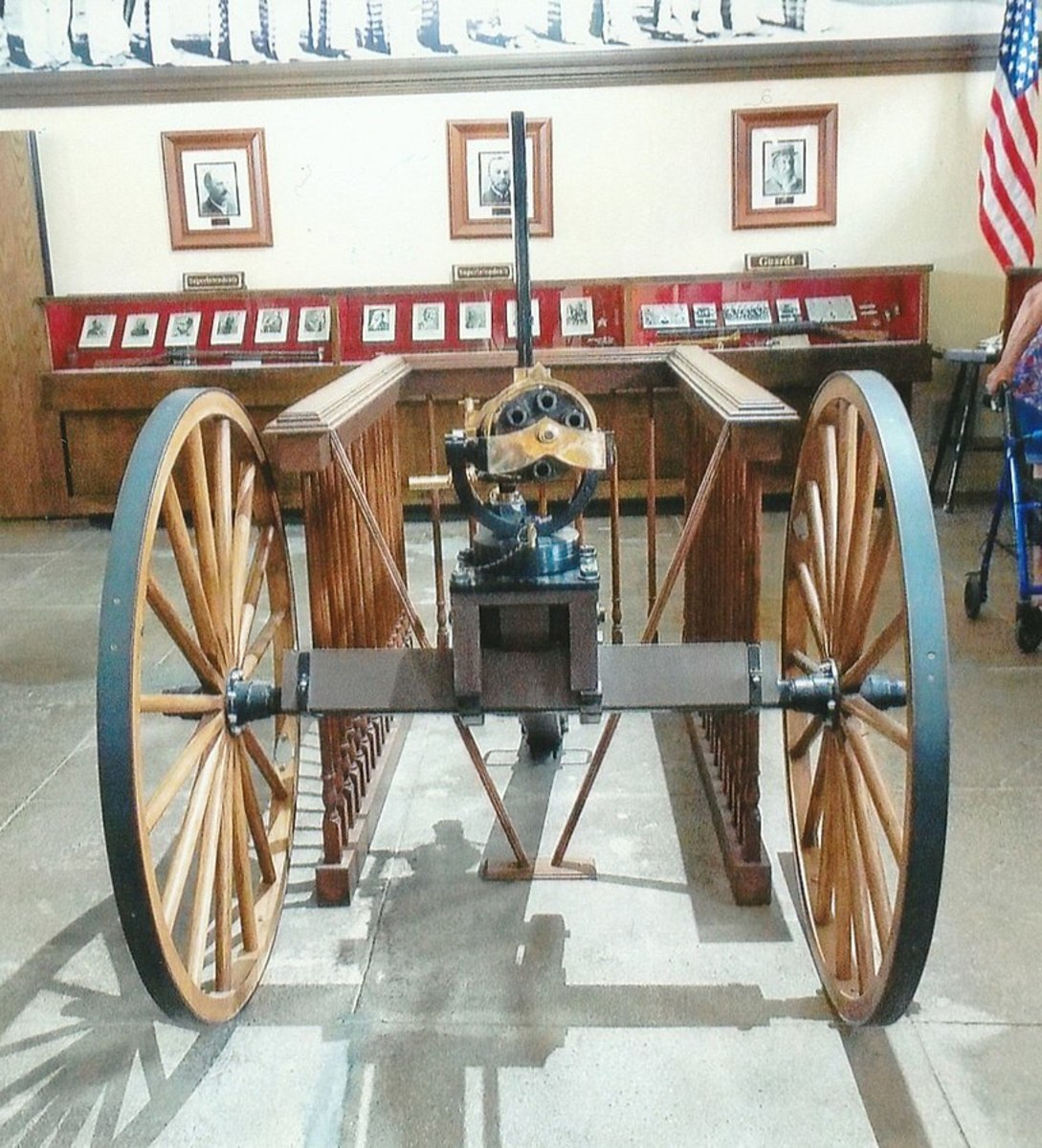 Gatling Gun used by the Yuma Territorial Prison guards