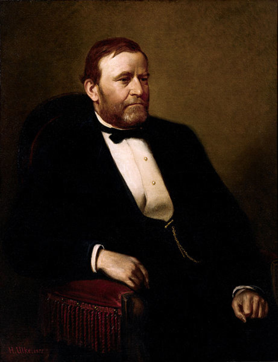 Official Presidential portrait of Ulysses Simpson Grant.