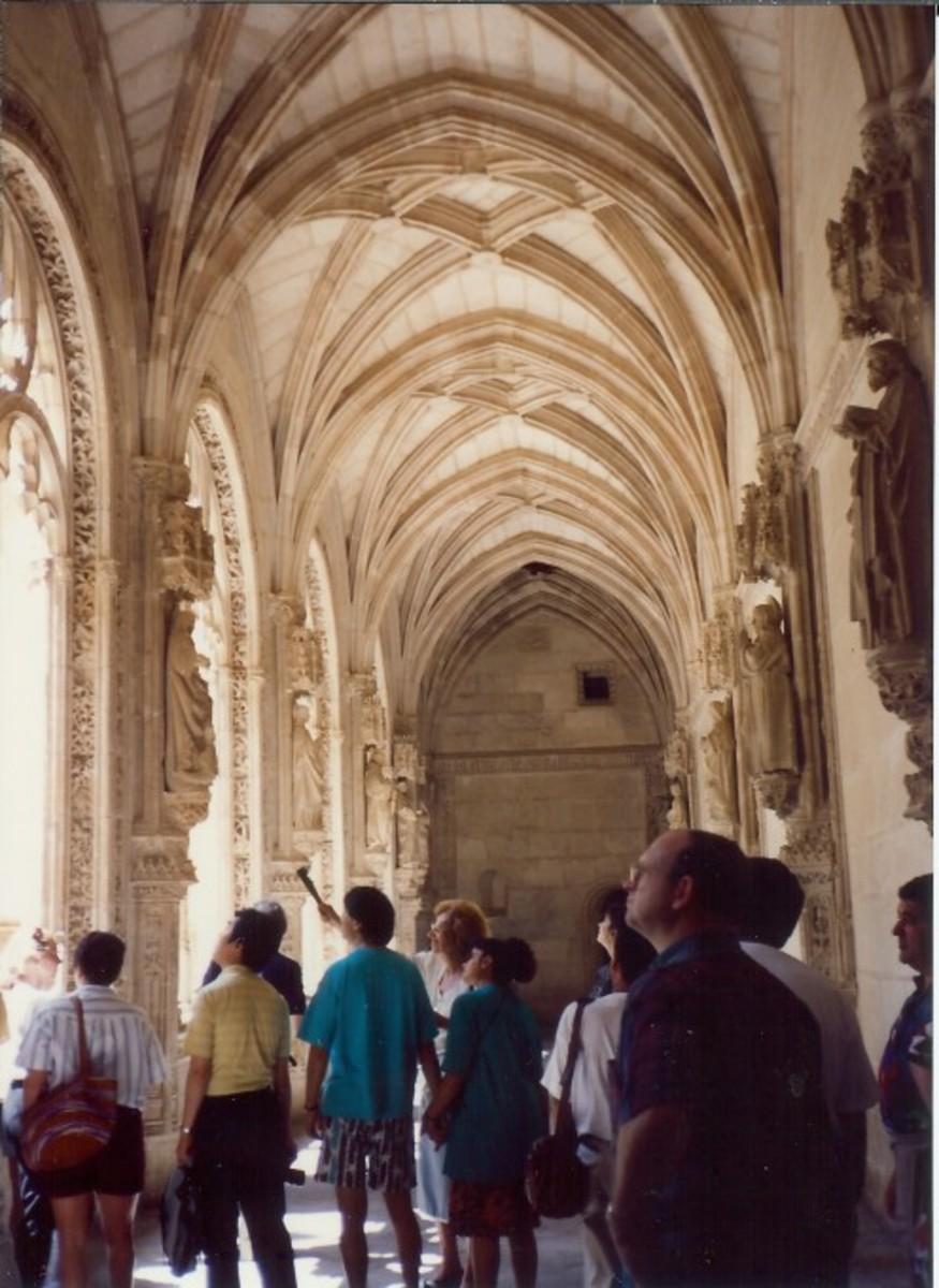St. John of the King's Cloister in Toledo